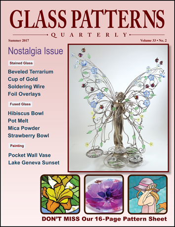 Glass Patterns Quarterly Glass Crafters Stained Glass Impressive Glass Patterns Quarterly