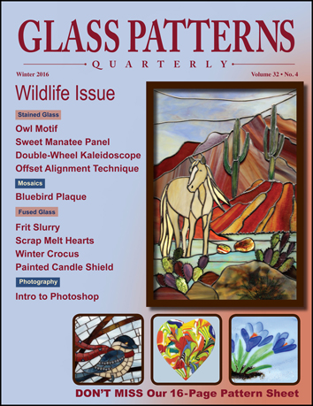 Glass Pattern Quarterly Glass Crafters Stained Glass Gorgeous Glass Patterns Quarterly